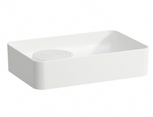 Laufen VAL 50 - Countertop Washbasin With No Tap Holes And With Semi Wet Area (Islet) Model 812282